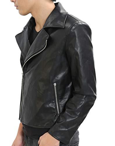 Mad-Max Costume Fury Road Motorcycle Jacket Cool Black PU Handmade XL