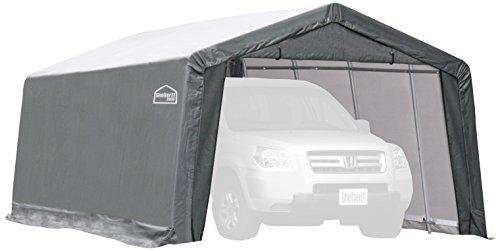 (Shelter Giant 11020 Instant Garage, 10'x20', Grey)
