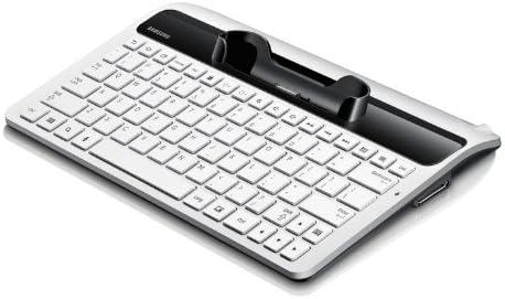 Samsung EKD-K11 Conector Dock QWERTY Blanco Teclado para móvil - Teclados para móviles (Blanco, Mini, Samsung Galaxy Tab 2 7.0, QWERTY, Conector Dock)