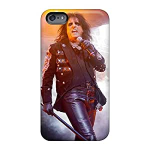 Shock Absorbent Cell-phone Hard Covers For Apple Iphone 6s Plus (XrU1672zFHJ) Support Personal Customs Trendy Alice Cooper Band Skin