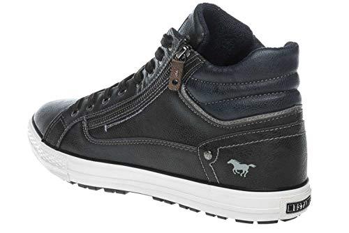 Sneaker Dunkelgrau 259 Graphit Top Hohe Mustang High Herren qwcX8TI6