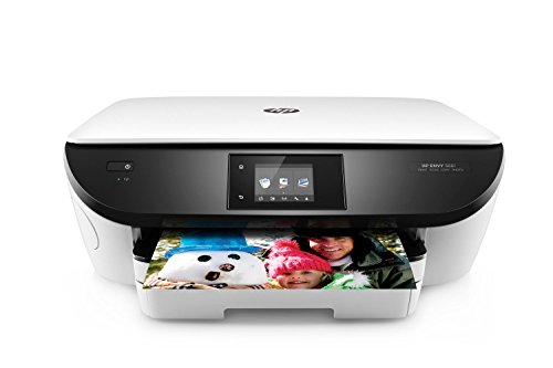 HP Envy 5661 Wireless All-in-One Inkjet Photo Printer with Mobile Printing, in White (Certified Refurbished)