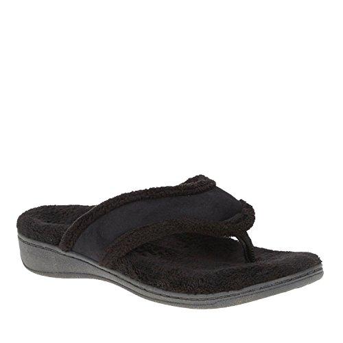 Vionic Bliss - Womens Orthotic Slipper Sandals Black - 10