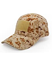 UltraKey Military Tactical Operator Cap, Outdoor Army Hat Hunting Camouflage Baseball Cap