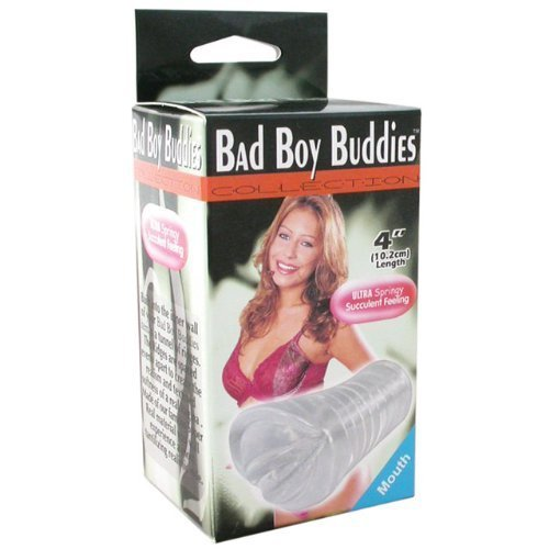 Bad Boy Buddies Mouth (Clear)