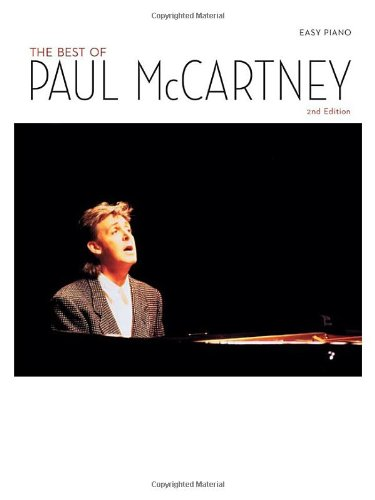 Best of Paul McCartney For Easy Piano