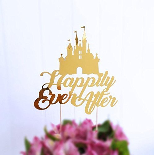 Happily Ever After Cake Topper, Fairy Tale Wedding Theme, Princess Castle Cake Topper, Cake Topper Wedding, Table Décor, Castle Centerpiece
