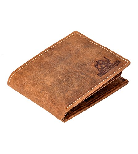 d63523fc58 BULL KRAFT Brown Genuine Leather Casual Formal Wallet for Men Boy (Card  Slot - 8)  Amazon.in  Bags
