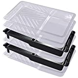 Paint Roller Tray Plastic Paint Trays Liner (6pack) for Household