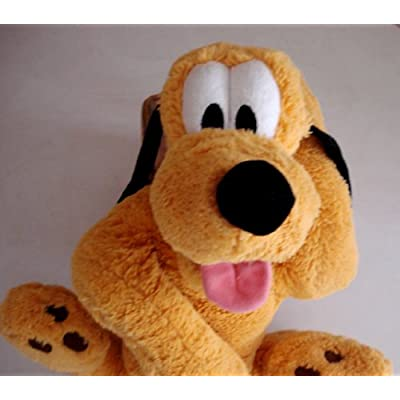 Large Pluto Floppy Plush - 20 Inches Long: Toys & Games