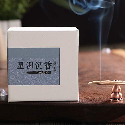 FANGCOOL Aromaterapia Laoshan Tan Placa pequeña Incienso Aire ...