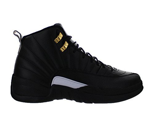 air-12-retro-men-basketball-running-sneakers-metallic-gold-leather-athletic-shoes-for-men-black