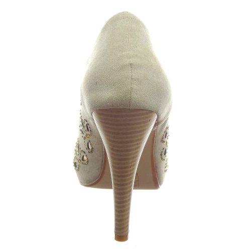 Chaussure Kickly Stiletto Mode Escarpin cheville Sandale ymwPv08OnN