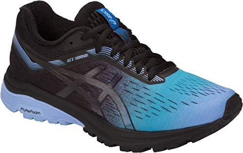 ASICS GT-1000 7 SP Women Running Shoe, Blue Bell/Black, 7 M US