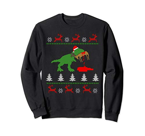 Humping Reindeer Ugly Christmas Shirts Sweater I Gift Idea]()