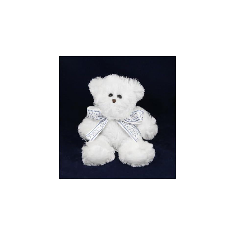 Dark Blue Ribbon Teddy Bear w/ Ribbon (Retail)
