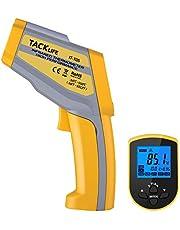 Termometro Digitale -50°C - 550°C Tacklife IT-T04 IT-T05 Termometro Laser, Emissività Regolabile 0.1-1.0 e Funzione di NCV