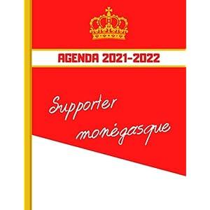 AGENDA 2021-2022: Football Monaco - Planner 2021 2022 Français - Organisateur Journalier Semainier Mensuel - Ecole… 8