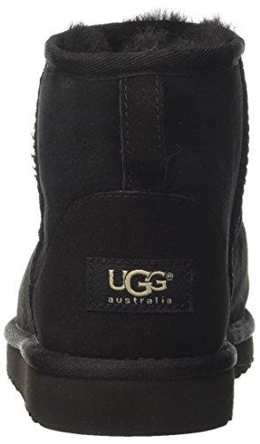 UGG Australia Damen Mini Classic Stiefeletten, Schwarz, 36 EU