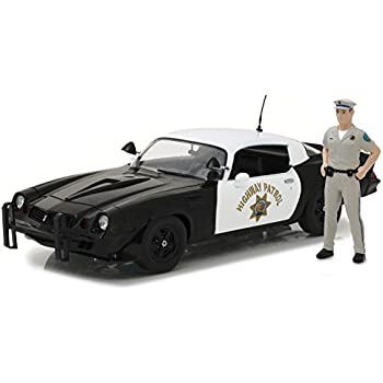 Greenlight 1:18 1979 Chevy Camaro Z/28 with California Highway Patrol Officer Figure