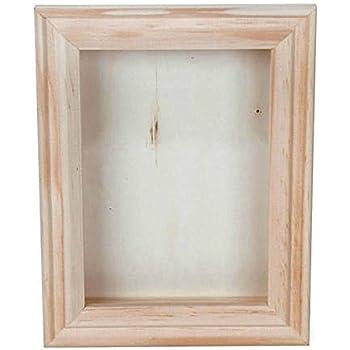 Amazon.com - Bulk Buy: Darice DIY Crafts Shadow Box Natural 5 x 7 ...