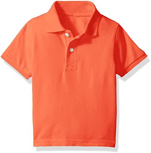 The Children's Place Baby Boys' His Li'l Short Sleeve Solid Polo
