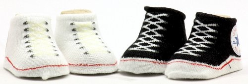 Amazon Converse Infant Baby Booties Socks Pink & f