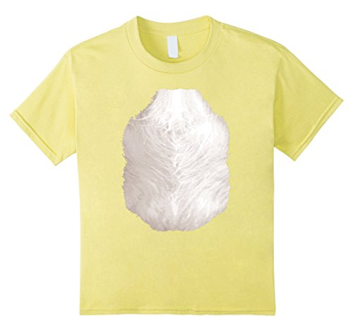 Yellow Labrador Costume (Kids Doggie T-Shirt Golden Retriever Brown Labrador Halloween 10 Lemon)