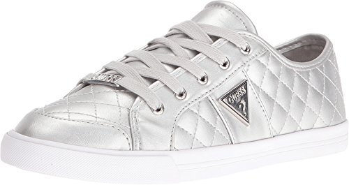 GUESS Women's Perly Silver Oxford
