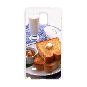 Samsung Galaxy Note 4 Case, Breakfast Case for Galaxy Note 4 White leemarson lmsf231458