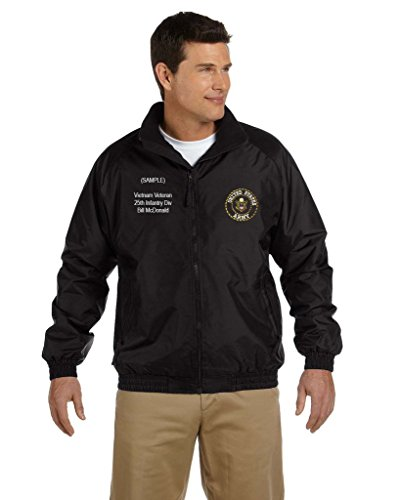 US Army Personalized Custom Embroidered Fleece Jacket - (Custom Embroidered Fleece Jacket)