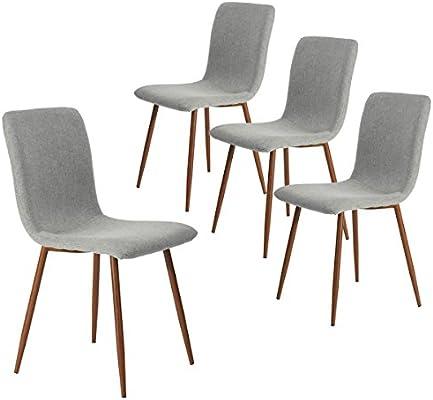 Amazonde Coavas Esszimmerstühle 4er Set Küchenstühle Schöne Form