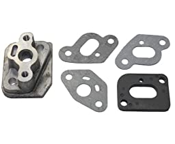 33cc Metal Manifold with Manifold & Carb gasket for Stand Up Gas Scooter Zooma