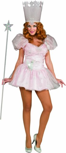 [Secret Wishes Wizard Of Oz 75th Anniversary Edition, Glinda The Good Witch, Pink, Small] (Pink Sexy Costumes)