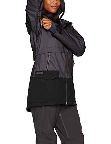 La Parka De Negro Escudo Columbia Chaqueta Catacumba Mujer EwqX4AnB1