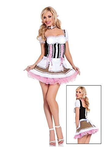 Heidi Ho Beer Girl Adult Womens Costume Oktoberfest Maiden]()