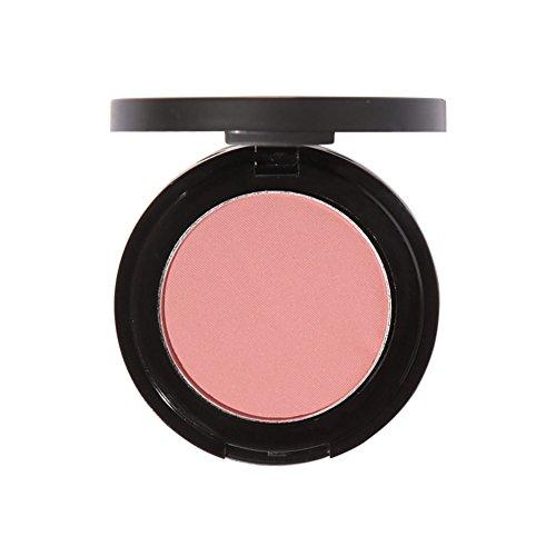 Mineral Blush Rouge (Shouhengda Matte Face Blusher Blush Single Color Pearl Rouge Blush Press Powder B06)