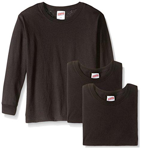 Soffe Big Boys' Long Sleeve Cotton T-Shirt – DiZiSports Store