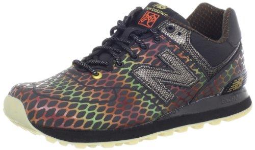 New Balance Hommes Ml574 Alpha Classique Mode Sneaker Noir Multi