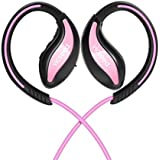 Bluetooth Headphones, VICSEED Wireless Sports Earphones Bluetooth 4.1 in-Ear Earbuds Sweatproof 8 Hrs Play Time HiFi Stereo Richer Bass Headsets for Running Gym - Pink
