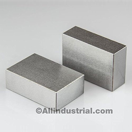 "BL-123NH Pair of 1"" x 2"" x 3"" Blocks without holes"
