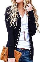 Women's Color Block Tunic Tops Long Sleeve Lightweight Sweatshirt T Shirt with Kangaroo Pocket