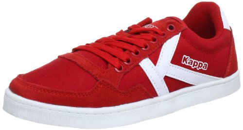 Kappa KOREA LOW 241637 - Zapatillas de lona unisex Multicolor (Mehrfarbig (2010 RED/WHITE 2010 RED/WHITE))