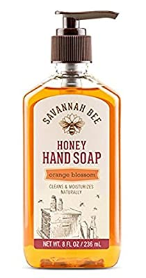 Savannah Bee Honey Hand Soap Orange Blossom