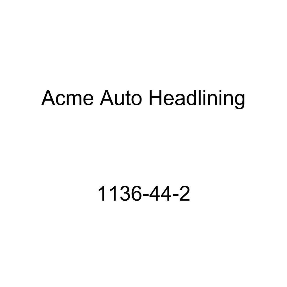 1951-52 Buick Roadmaster /& Super 2 Door Sedan 9 Bows Acme Auto Headlining 1136-44-2 Taupe Replacement Headliner