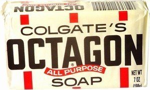 Octagon All Purpose Laundry Bar Soap by Colgate – 7 Oz