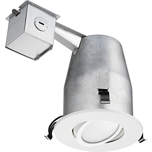 Lithonia Lighting LK4G2MW LED 50K M4 Gimbal Kit with Integrated Led, White, 4 inch by Lithonia Lighting