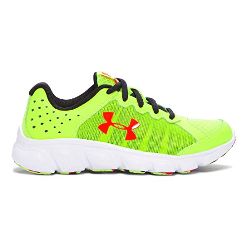 6 Yellow Armour Boys' anthem Red Ua Bps vis Running Under High Assert white Shoes SyIAvBxq