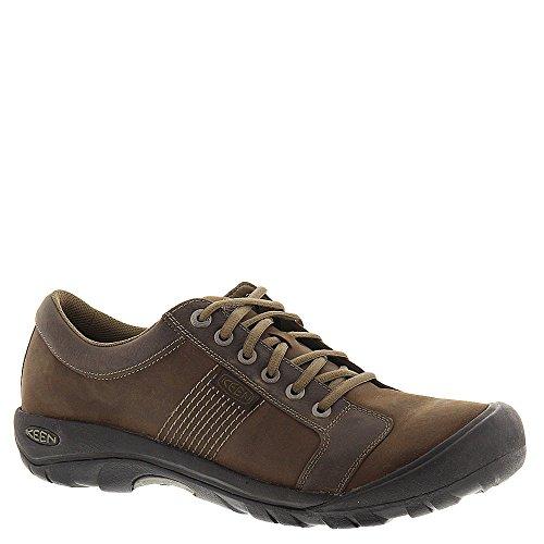 KEEN Mens Austin Chocolate Brown Walking Shoe - 13