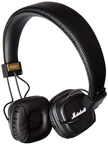 Marshall Major II Bluetooth Diadema Biauricular Alámbrico Negro auricular para móvil - Auriculares...